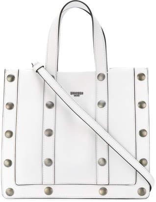 Moschino studded tote bag
