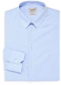 Armani Collezioni Cotton Modern-Fit Dress Shirt