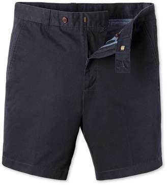 Charles Tyrwhitt Navy Chino Cotton Shorts Size 30