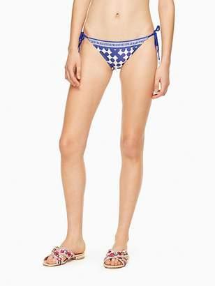Kate Spade Moonstone beach string bikini bottom
