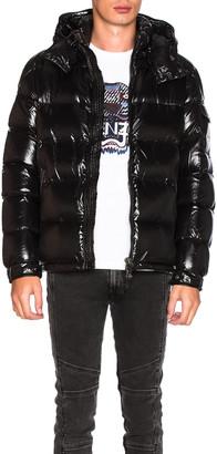 Moncler Maya Jacket in Black | FWRD
