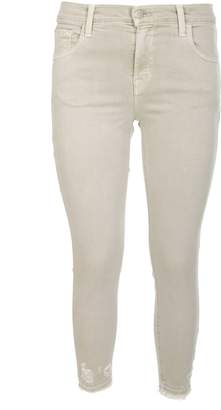 J Brand J-brand Mid Rise Jeans