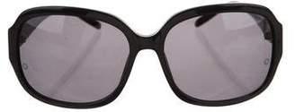 Montblanc Square Oversize Sunglasses