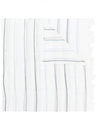 Le Tricot Perugia stripe scarf