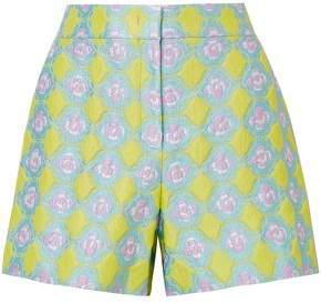 Emilio Pucci Floral-jacquard Shorts