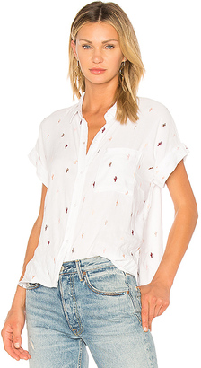 Rails Whitney Button Up in White $158 thestylecure.com