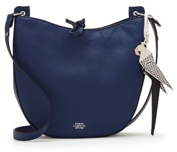 Vince Camuto Polli Leather Crossbody Bag - Blue