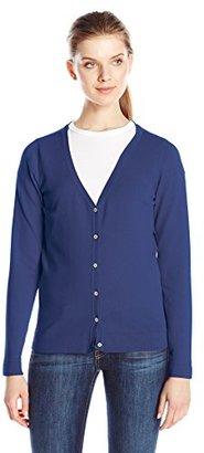 Dockers Women's V-Neck Cardigan Sweater $19.20 thestylecure.com