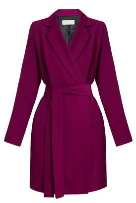 UNDRESS - Dara Fuchsia Blazer Dress