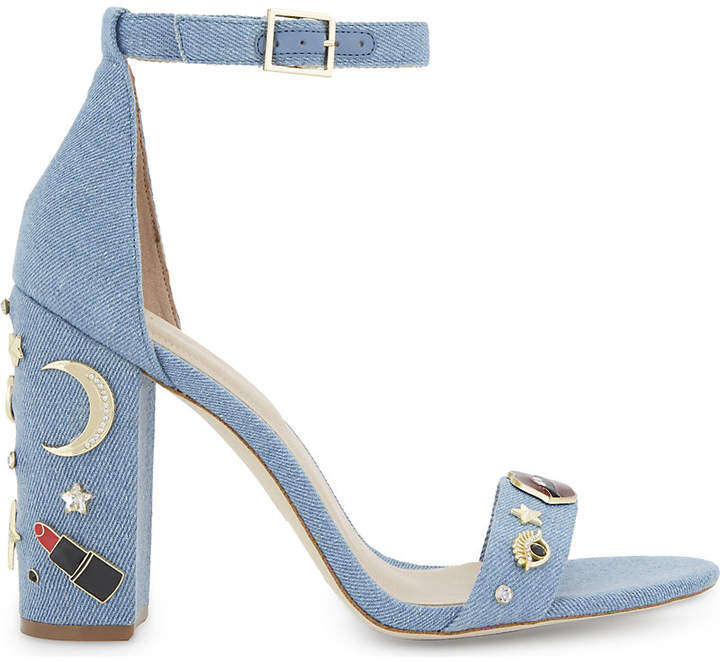 ALDO Larelle denim heeled sandals