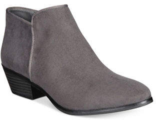 Style&Co. STYLE & CO. Zip Ankle Booties