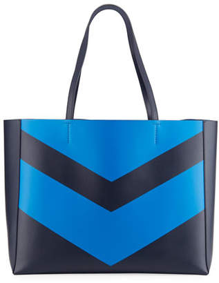 Tory Sport Chevron East-West Tote Bag