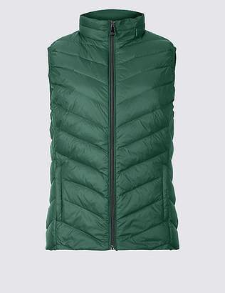 "Marks and Spencer Lightweight Down & Feather Gilet with Stormwearâ""¢"