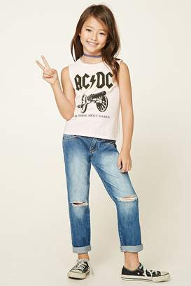 Forever 21 Girls Distressed Jeans (Kids)