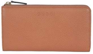 Gucci Zip Around Wallet Saffron Brown