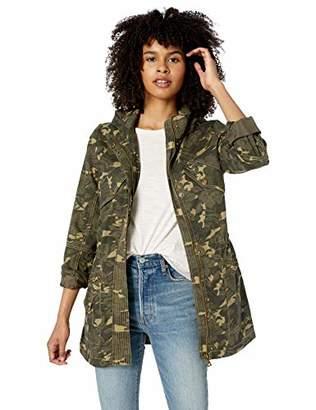 Urban Republic Women's Juniors Cotton Twill Jacket,M