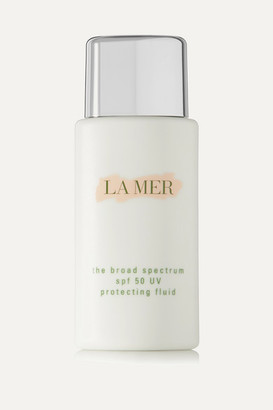 La Mer - The Broad Spectrum Spf50 Uv Protecting Fluid, 50ml - Colorless $95 thestylecure.com