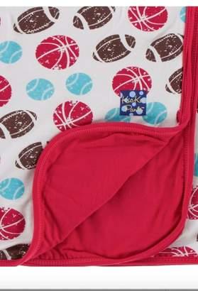 Kickee Pants Printstrollerblanket Natural Sports