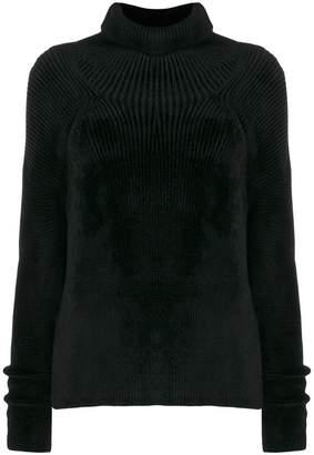 Haider Ackermann ribbed knit sweater