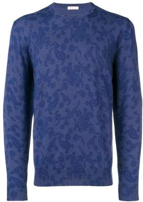 Etro paisley print knitted sweater