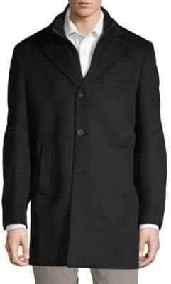Saks Fifth Avenue Jarrad Wool Topcoat