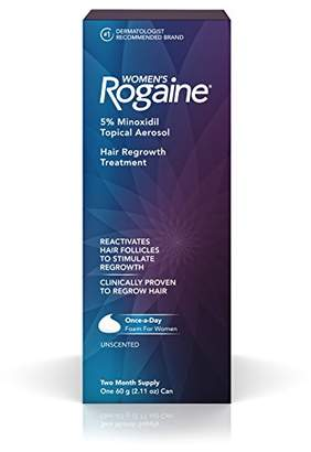 Rogaine Women's 5% Minoxidil Foam for Hair Thinning and Loss