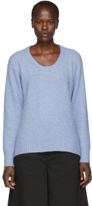 3.1 Phillip Lim Blue Wool and Alpaca Sweater