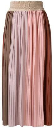 Altea high-waisted pleated skirt