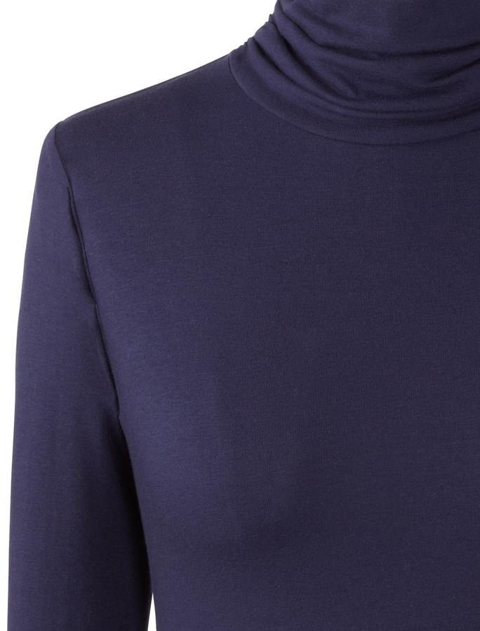 Coldwater Creek Ruched turtleneck