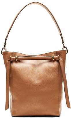 Banana Republic Italian Leather Large Bucket Bag