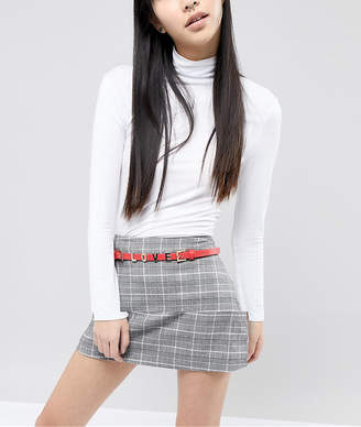 Pieces Love Slogan Belt