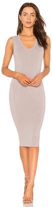 Nookie Maya Knit V Neck Midi Dress