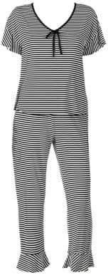 Kate Spade Capri Stripe Pajamas