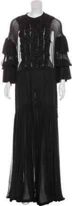 Dries Van Noten Deyanne Silk Gown