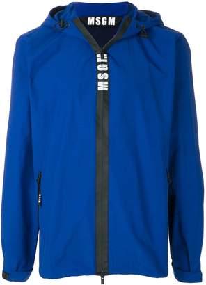 MSGM lightweight hooded jacket