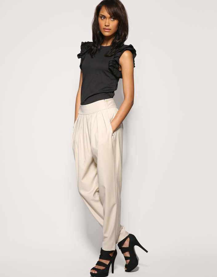 French Connection Slouched Harem Trousers