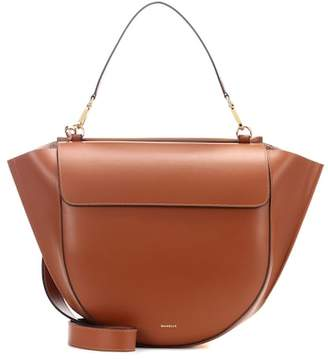 Hortensia Wandler Big leather shoulder bag