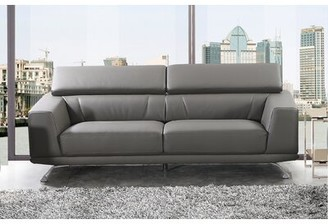 Wade Logan Rhea Eco-Leather Sofa