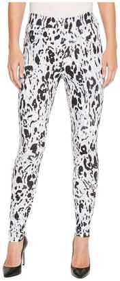 Hue Inked Animal Denim Leggings Women's Casual Pants