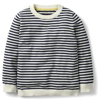 Mini Boden Cotton & Cashmere Sweater