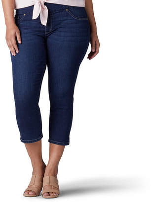 Lee Slim Leg Pull-On Jean - Plus