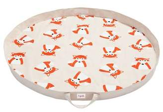 3 Sprouts Fox Play Mat Toy Bag