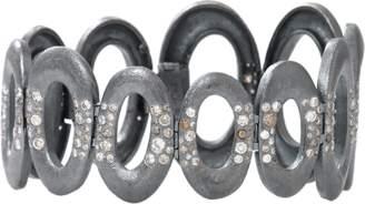 Todd Reed Diamond Oval Link Bracelet