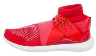 Y-3 Qasa Elle Knit Sneakers w/ Tags