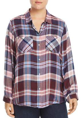 Lucky Brand Plus Plaid Shirt