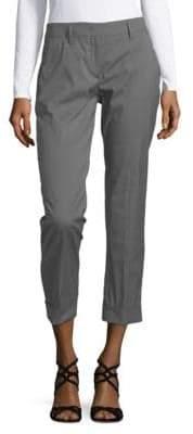 Prada Pantalone Popeline Plain Pants