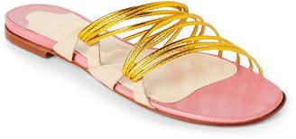 Christian Louboutin Frescobaldi Strappy Flat Sandals