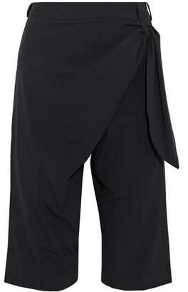 J.W.Anderson Wrap-Effect Draped Crepe Shorts