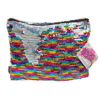 Fashion Angels Style Lab Magic Sequin Pencil Pouch - Rainbow/Silver