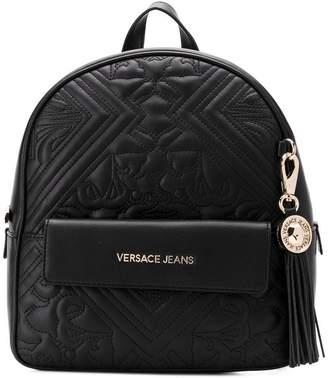 Versace embossed backpack